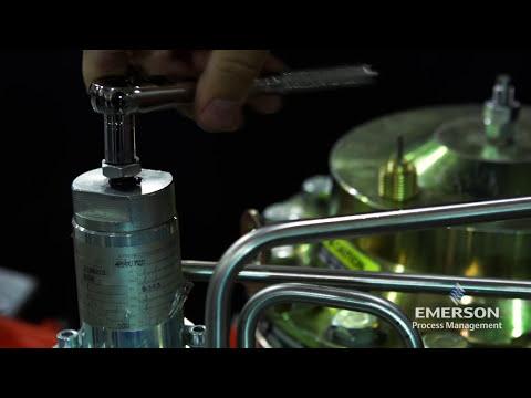 How Do I Start Up The Emerson Natural Gas EZH/EZHSO Wide Open Monitor Regulator?