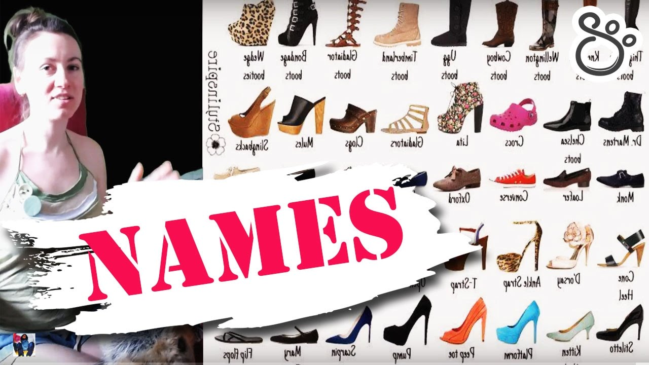 Right Names Of Almost All Types Of Women S Footwear Russian