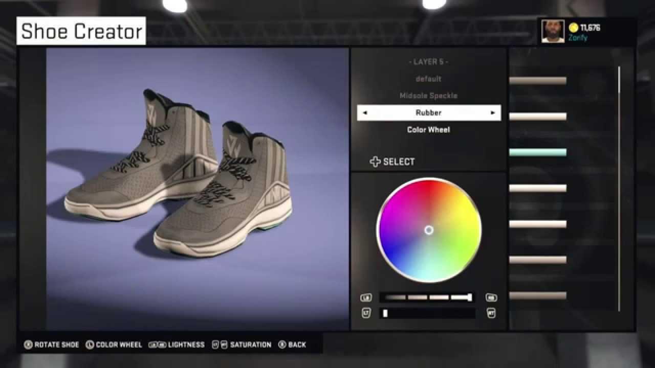 NBA 2K15 Shoe Creator - Adidas J Wall 1