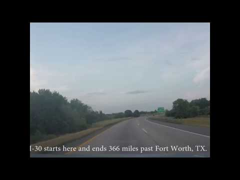 Arkansas Interstate's 30 and 440 East
