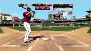 MLB 2K11 Gameplay - Hitting