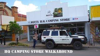 DRIFTA HQ CAMPING STORE WALKAROUND