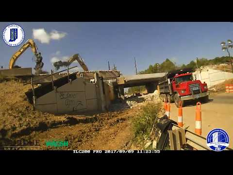 Walsh Construction I-70 Bridge Slide (Richmond, IN)