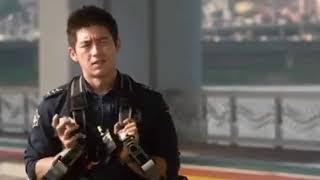 """Упала с моста Корейский фильм :""""Любовь 911"""""""