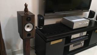 Yamaha A-S801, Pioneer N-50A and Monitor Audio BX2 Combination