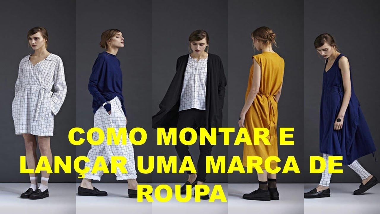 Como Montar e lançar uma marca de Roupa Sem Riscos- Dr Gestão - YouTube 38ffe6843f835