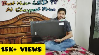 Haier 32 quot LED TV LE32D2000 Unboxing And Review