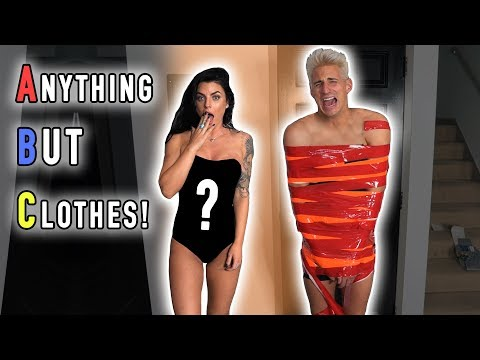 Thumbnail: ANYTHING BUT CLOTHES CHALLENGE! (Boyfriend vs. Girlfriend)
