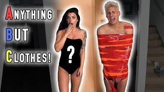 ANYTHING BUT CLOTHES CHALLENGE! (Boyfriend vs. Girlfriend)