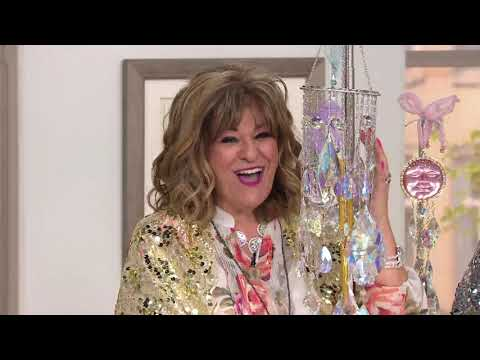 Kirks Folly Dance of the Crystal Queen Windchime on QVC