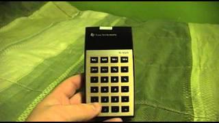 Texas Instruments TI-1025 Calculator
