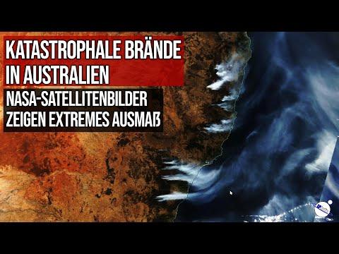 Katastrophale Brände in Australien - NASA Satellitenbilder zeigen extremes Ausmaß