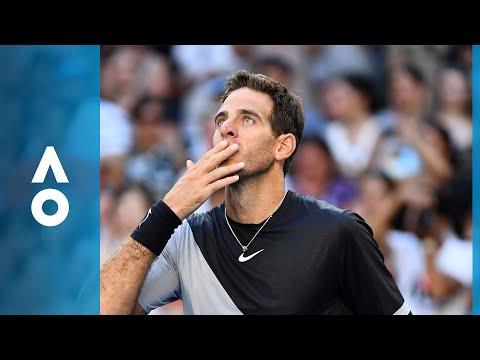 Karen Khachanov v Juan Martin del Potro match highlights (2R) | Australian Open 2018