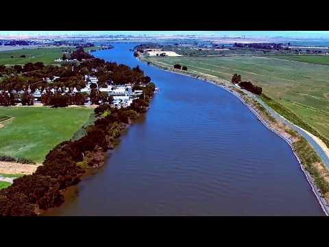 Drone flight - Sacramento River Delta