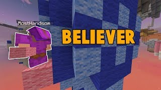 Bedwars Block Clutch Montage | Believer