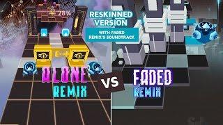 Rolling Sky Faded Remix VS Alone Remix (ReSkinned Version) Alan Walker