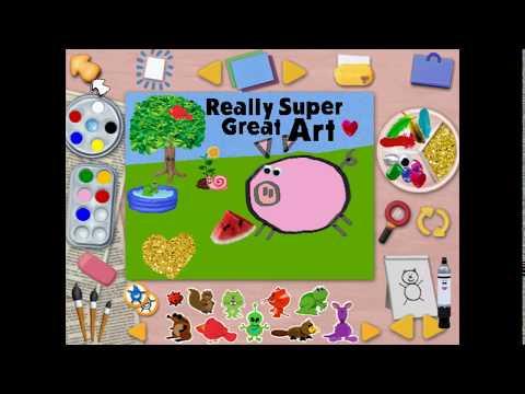 Really Super Great Art! | Blue's Art Time Activities (Part 1)