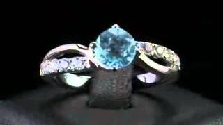 видео Обручальные кольца с бриллиантами от Gold Millenium