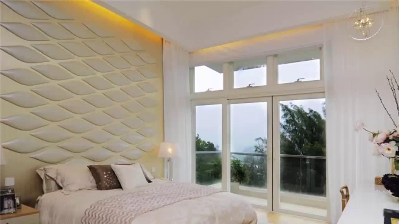 Bedroom Wall Design Ideas - YouTube