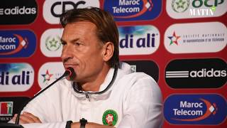 Hervé Renard : Il y a beaucoup de points à améliorer avant la Coupe du monde