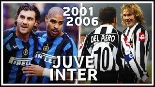 Juventus vs Inter - History Remix from 2001 to 2006