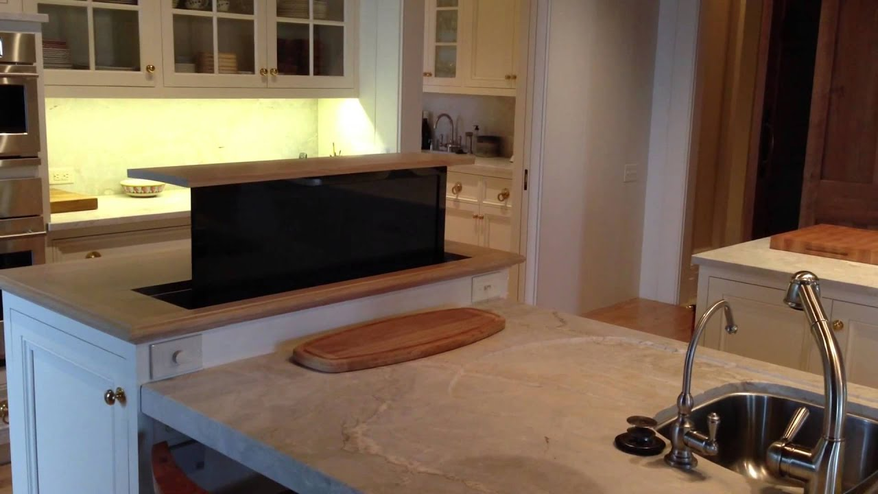 Pop Up Kitchen Counter Tv By Stereo Types Youtube