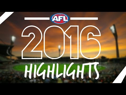 AFL 2016 Season Highlights