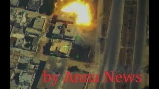 Drone footage of the airstrikes on jihadi targets | July 18th  - 21st 2019 | Northern Hama, Syria