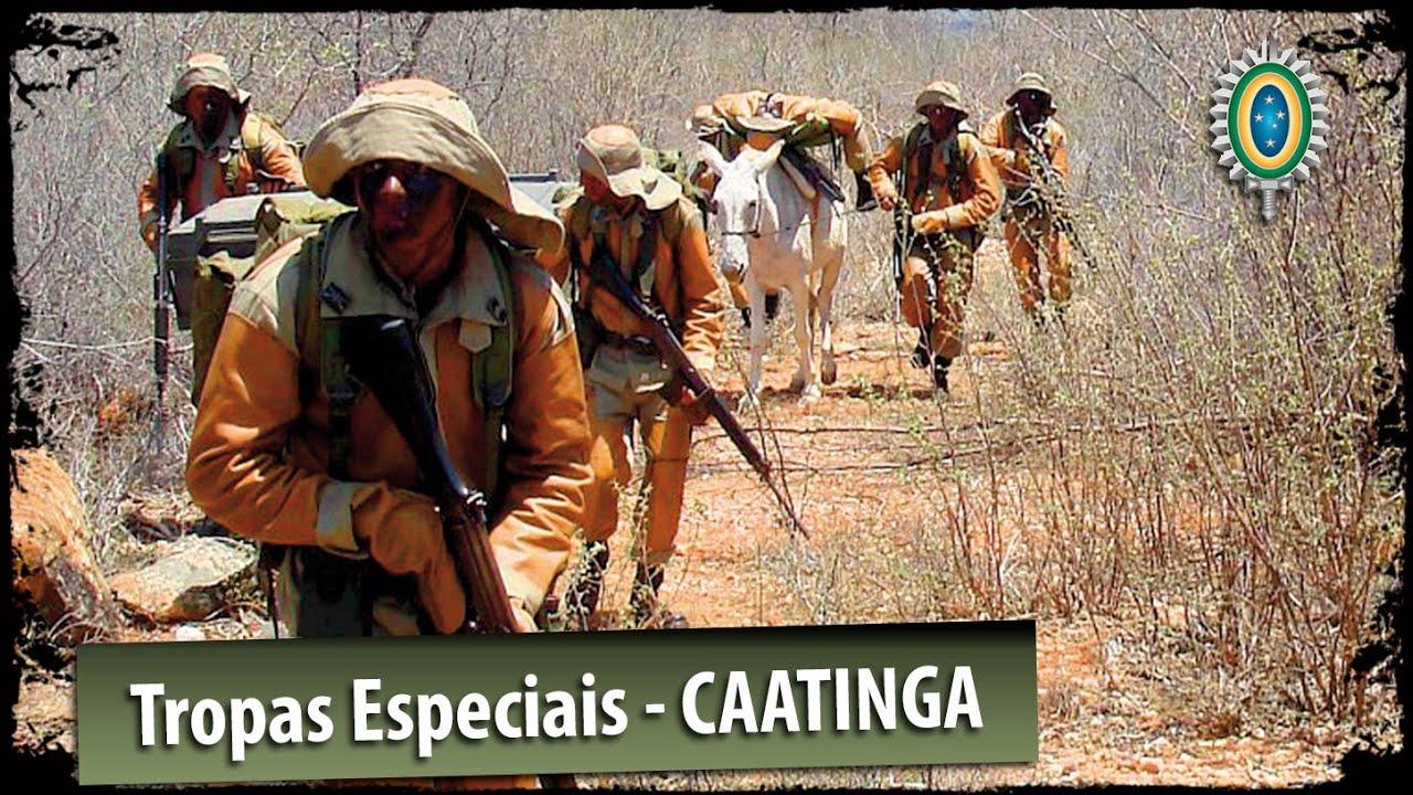 Tropas Especiais Do Exército Brasileiro Caatinga