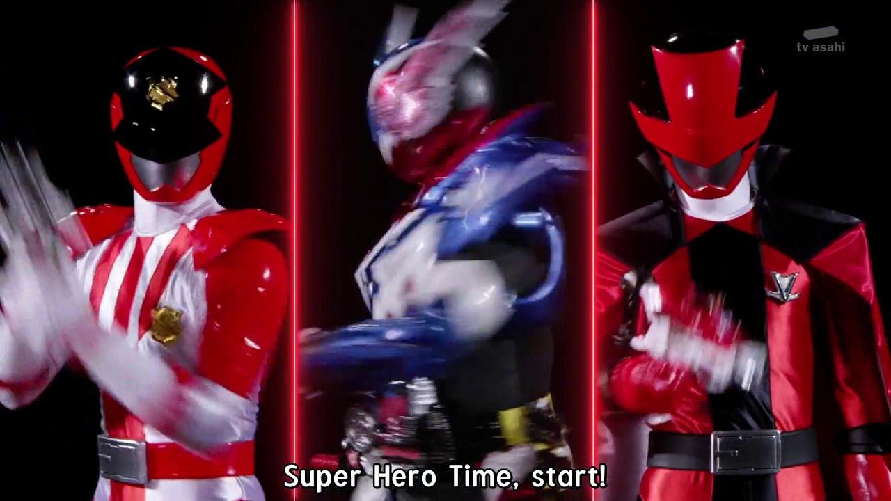 Lupinranger VS Keisatsu Sentai Patoranger Sentai Hero Series Super Lupin X