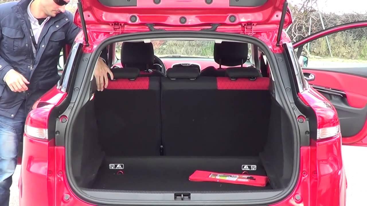 Renault Clio Sport Tourer Modelo 2013 Maletero Y Configuración Del Interior