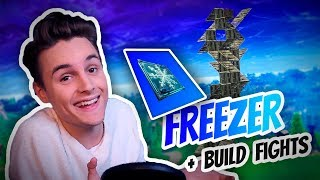 FREEZER + BUILD FIGHTS! | Norsk Fortnite