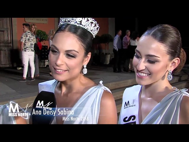 Coronación Miss Norte 2018 y entrevistas