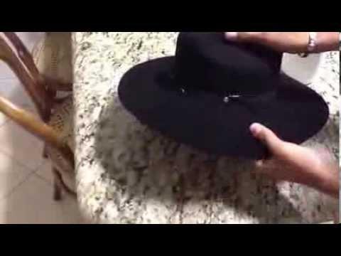 713b128ac764f Como Formar Chapéu de Feltro... - YouTube