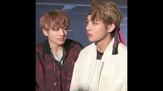 Taekook (When Jungkook can't stop looking on Taehyung.)