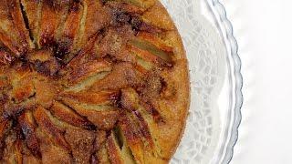 Простой итальянский деревенский пирог с яблоками. Подробное видео.