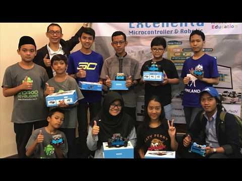Microcontroller Programming for Kids by Excellenta EduTech, Jakarta 10 Jun 2017