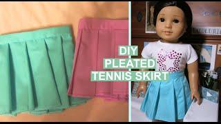 diy american girl tennis skirt summer d3lights 2016