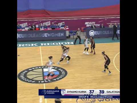 Yulia Kozik 15 points Highlights vs  Galatasaray