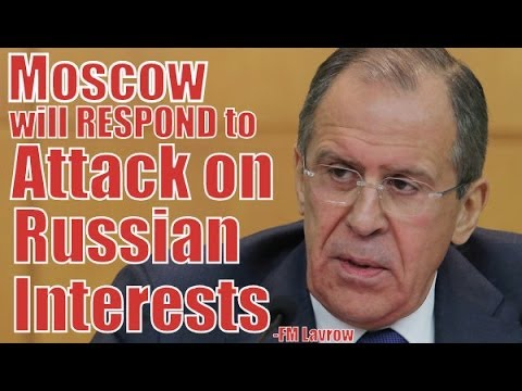 Moscow Will Respond to Attack on Russian Interests -FM Lavrov | FULL INTERVIEW |