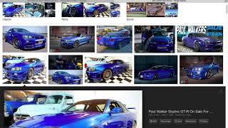 Making Paul Walkers Nissan Skyline GT-R 34 in Vehicle Simulator ROBLOX