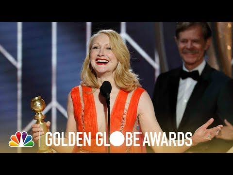Patricia Clarkson Wins Best Supporting TV Actress - 2019 Golden Globes (Highlight) Mp3