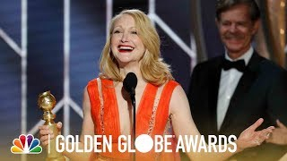 Patricia Clarkson Wins Best Supporting TV Actress - 2019 Golden Globes (Highlight)