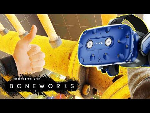 ОДНА ИЗ ЛУЧШИХ ИГР ДЛЯ ВР ! Прохождение Boneworks Володя играет в Бонворкс в VR