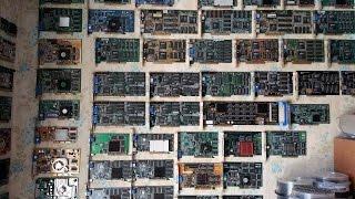 Моя Коллекция Видеокарт 260 шт 3dfx Nvidia ATI Etc ШОК Graphics Card Collection 260 Pcs