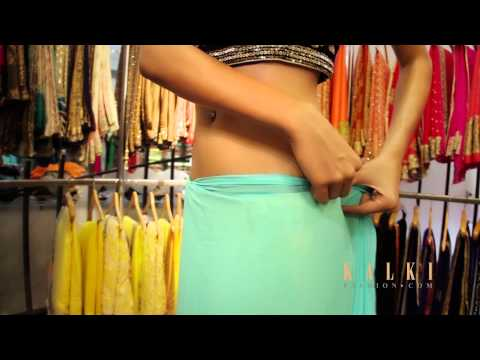 How To Wear A Saree - Video