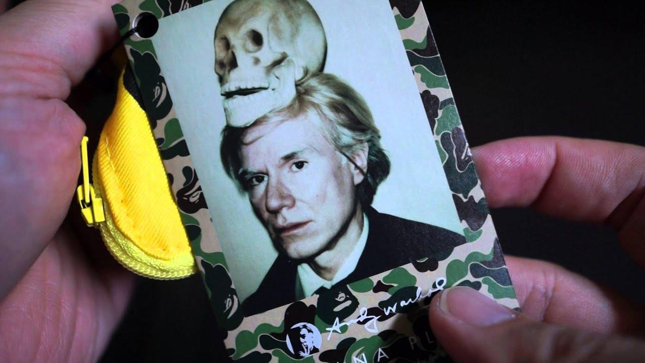 e138134de Bathing Ape BAPE x Andy Warhol x Medicom Toys 2016 Banana Plush Unboxing!