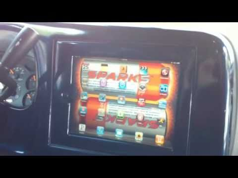 Custom IPad Install BY BEST BUY INSTALLER Into Silverado