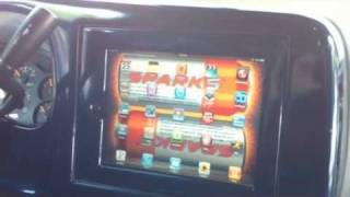 Custom iPad install BY BEST BUY INSTALLER into Silverado inspired by Soundman