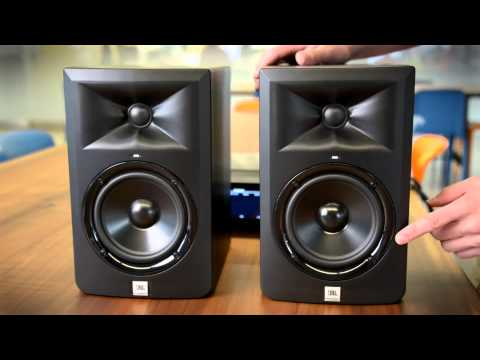 Hands on with the JBL 3-series LSR305 Reference Monitors